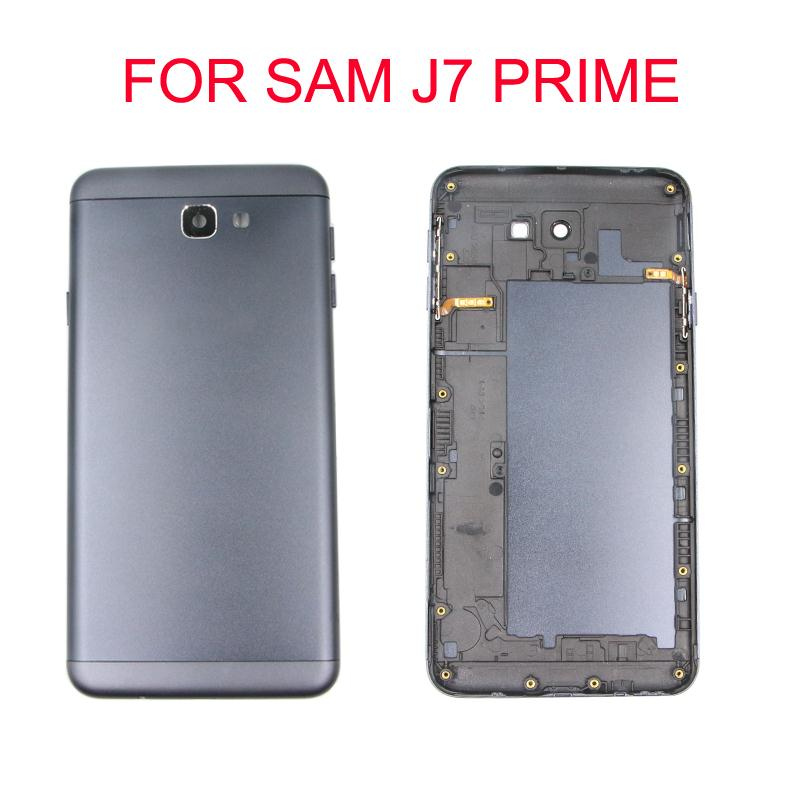Image 3 - For Samsung Galaxy J7 Prime G610F G610 On7 2016 Housing Battery Cover Back Cover Case Rear Door Chassis Shell Replacement-in Mobile Phone Housings & Frames from Cellphones & Telecommunications on