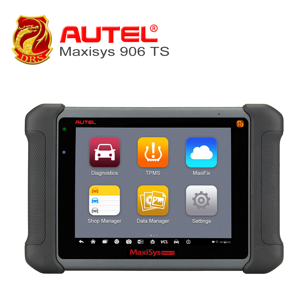 AUTEL Car scanner MaxiSys 8 MS906 TS Android 4.4.2 OS Free Online Update Full System ECU Coding / TPMS Solution Diagnostic Tool