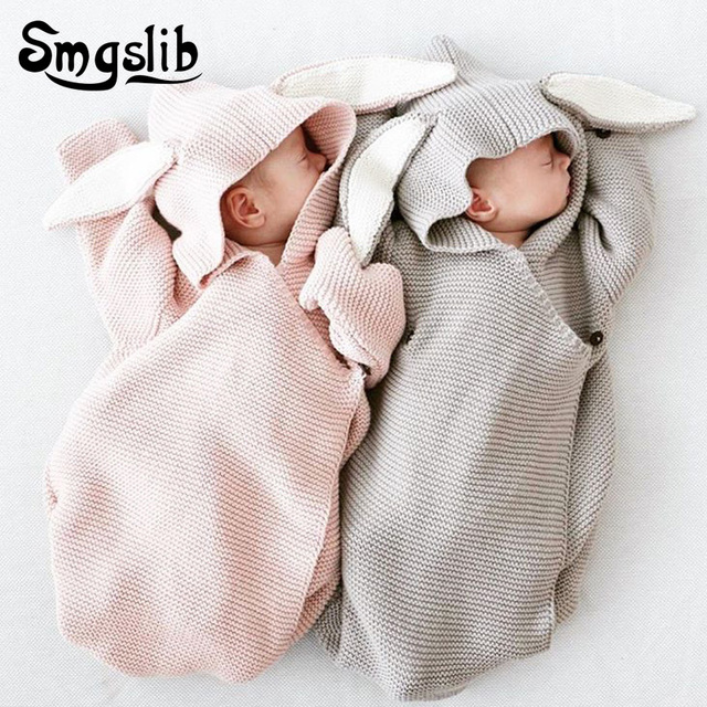 ba60e088e6c0 Baby girl romper knitted tracksuit baby rompers long sleeve jumpsuit  Sleeping Bag Newborn Clothes 6 months