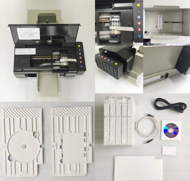 ID card printer detail