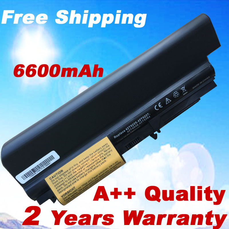 9 Cells 7800mah Laptop Battery 41U3196 41U3198 ASM 42T5265 For IBM lenovo ThinkPad R400 T400 R61 R61i T61 T61p new 9 cell laptop battery for lenovo thinkpad r500 r61e t500 sl300 t61p sl400 sl500 41u3198 asm 42t4545 fru 42t4504 42t4513