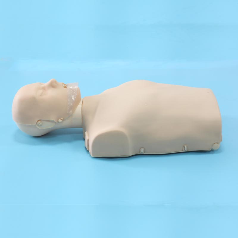 BIX/CPR100B Half Body CPR Manikin Adult First Aids Training Model bix cpr100b half body cpr training manikin adult half body cpr manikin model 076