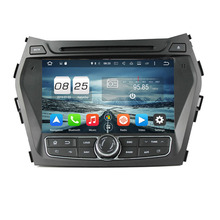 RAM 2GB ROM 32G Octa Core Android 6.0 Fit Hyundai IX45 / Santa Fe 2013 2014 Car DVD Player Navigation GPS Radio
