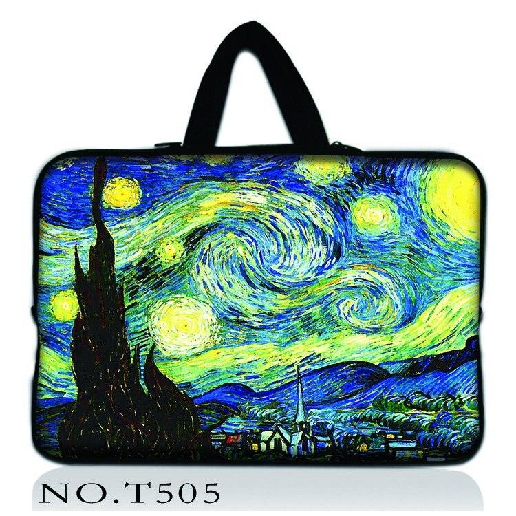 Van Gogh Waterproof Laptop Bag 11 12 13 14 15 15.6 17 Women Men Notebook Bag Case 13 Laptop Sleeve for MacBook Air 13 Case