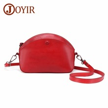 JOYIR Crossbody Bags For Women Messenger Bag Female Genuine Leather Small Shell Shoulder Bag Women Handbags Bolsa Feminina New стоимость