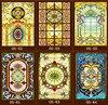Custom Scrubs No Glue Electrostatic Opaque European Church Stained Glass Windows And Doors Wardrobe Furniture Foil