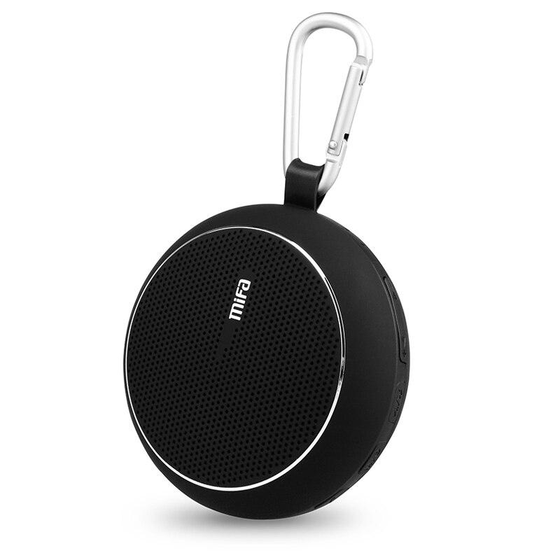 Mifa F1 Portable Bluetooth Outdoor Speakers IPX4 Waterproof Soundbar with Super Bass Driver/built-in Mic Mini Wireless speaker