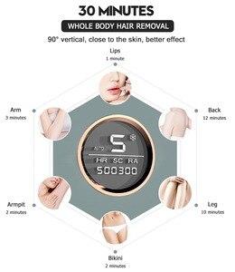 Image 3 - Osenyuan 4in1 Icecool IPL épilateur Laser épilation permanente pour visage corps jambe Bikini électrique dépiladora Laser épilateur