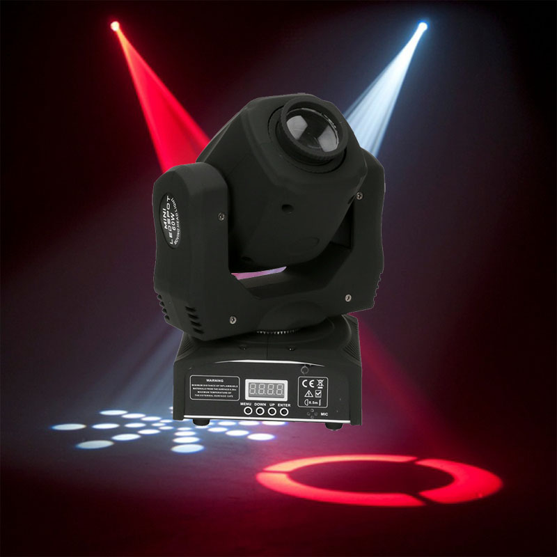 60W LED Moving Head Spot Light/USA Luminums 60W LED DJ Spot Light 60w Gobo Moving Heads Lights Super Bright LED DJ Spot Light
