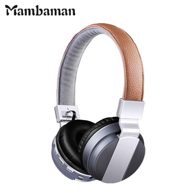 Mambaman BT-008 wireless headphone Bluetooth Headphone with microphone Stereo earphone gaming Headset earbuds for xiaomi Phone new guitar shape r9030 bluetooth stereo earphone in ear long standby headset headphone with microphone earbuds for smartphones
