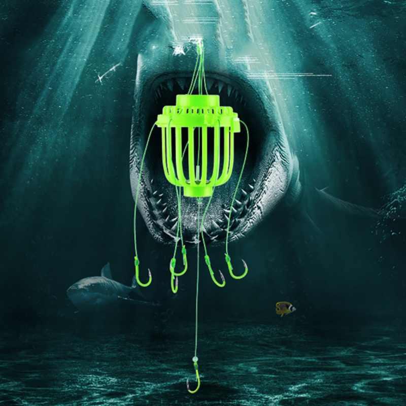 انفجار هوك صيد السمك صندوق البحر هوك مكافحة معلقة أسفل قنبلة هوك يلقي البحر Bream خطاف الصيد