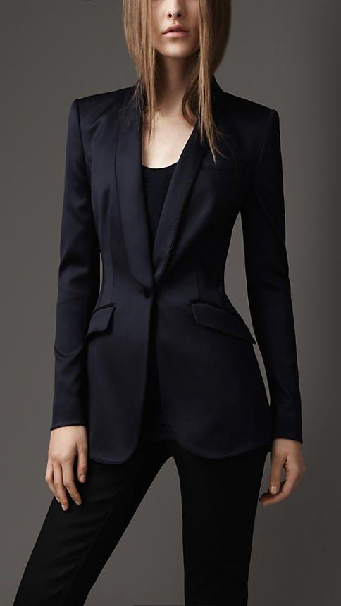 2015 fashion black women tuxedos shawl lapel suits for