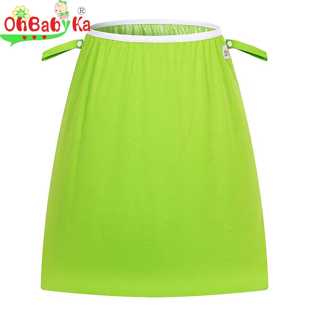 Ohbabyka Pail Liner for Cloth Diaper Nappy Insert Wet Bag Large PUL Waterproof and Reusable Tote