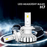 2PCS Car Headlight Bulb All In One H7 H11 H4 9005 HB3 9006 HB4 H8 H9