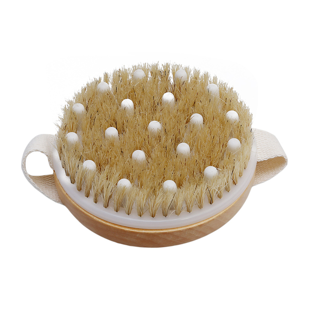 Bathing Shower Massage Brush Bristle Brushes Massage Body Brush With ...