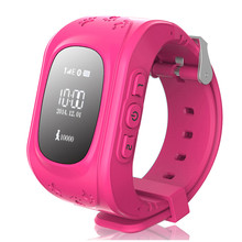Smart Watch Anti Lost Q50 OLED Child GPS Tracker SOS Monitoring Positioning Phone Kids GPS Baby Watch Compatible IOS & Android(China)