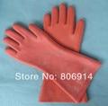 Бесплатная доставка 5KV изоляционные рабочие перчатки защитные перчатки перчатки электрика - напряжение - электричество перчатки
