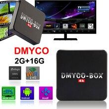 DMYCO-BOX H96 Plus S905 Amlogic CAJA de la TV Inteligente Android 5.1 2 GB 16 GB WIFI H.265 BT4.0 4 K Reproductor Multimedia decodificador igual que H96 Plus
