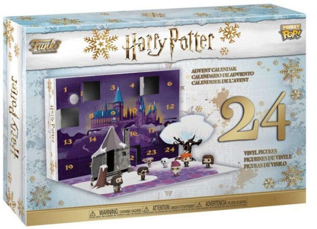 Calendrier de l'avent avec 24 figurines en vinyle en Stock édition limitée FUNKO poche POP officiel HARRY POTTER