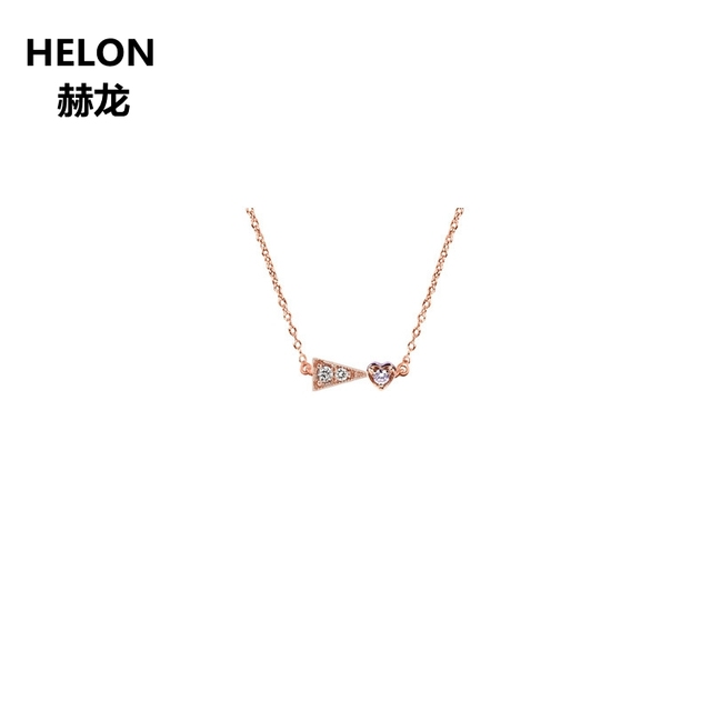 SI/H taille complète diamants naturels femmes collier pendentif certifié diamants fiançailles mariage pendentif à la mode Design Unique