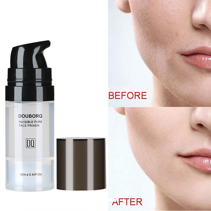 Makijaż baza pod podkład do twarzy naturalny matowy makijaż fundacja podkład pory niewidoczny przedłużyć olejek do twarzy kontrola kosmetyk 5