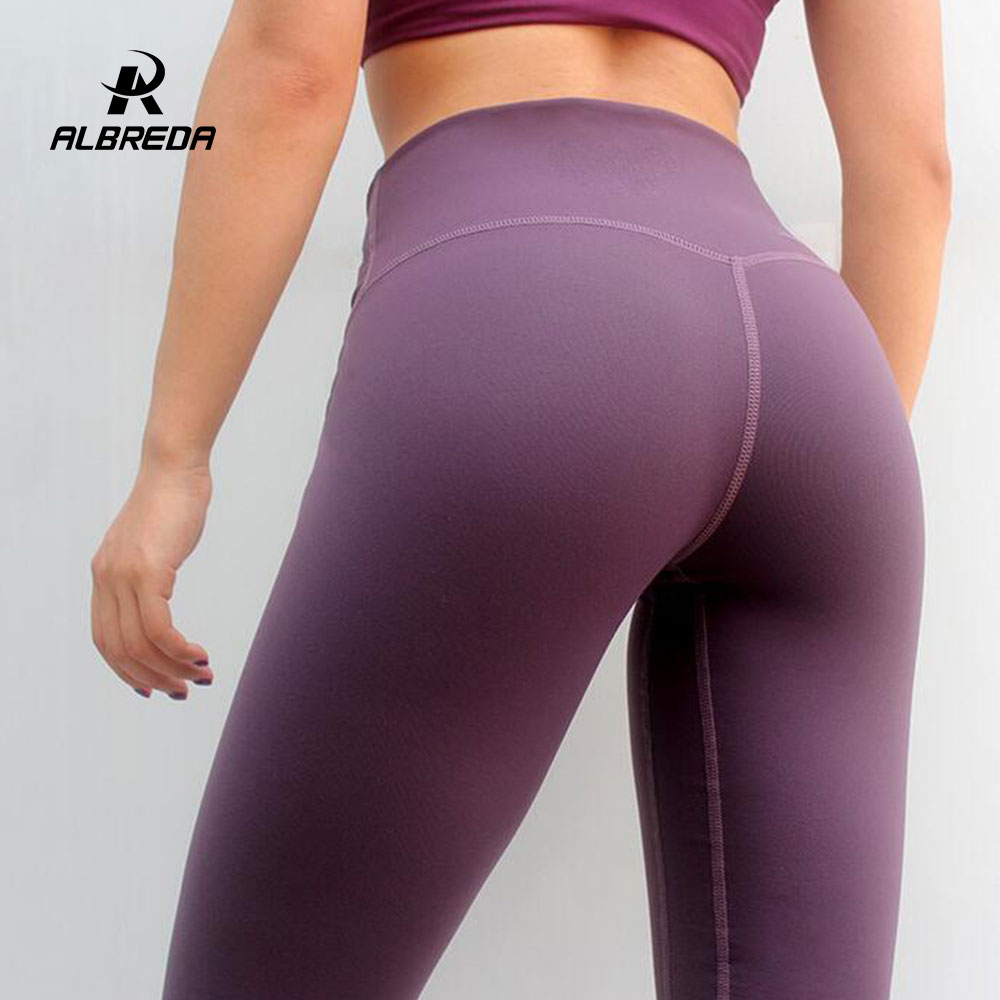 Women Fitness Ladies Leggings Running High Waist Yoga Pants Trousers Gym Clothes
