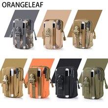 Купить с кэшбэком Military Pouch Waist Bag For Men Multifunction Waterproof Military Belt Bag Mobile Phone Wallet Travel Pouch Waist Packs