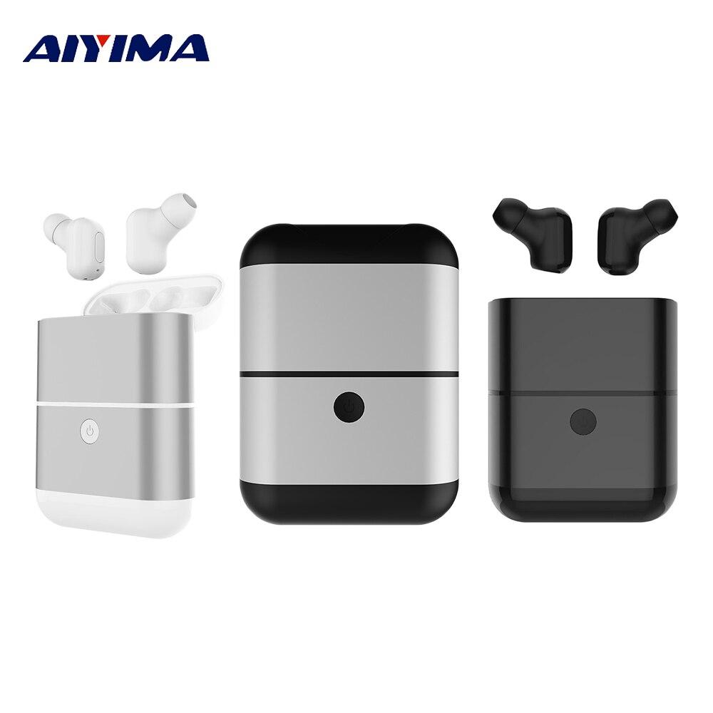 AIYIMA Mini Earbuds X2 TWS Wireless Bluetooth Earphones Waterproof Sports Headphones Stereo Handsfree In-ear Headset For iPhone