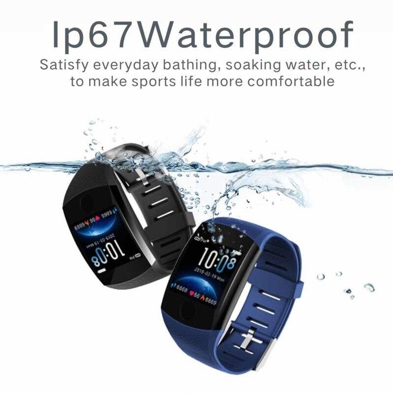Veryfitek Q11 Super Long Standby Smart Watch Blood Pressure Heart Rate Monitor Fitness Bracelet Men Women Smartwatch Pk Q9