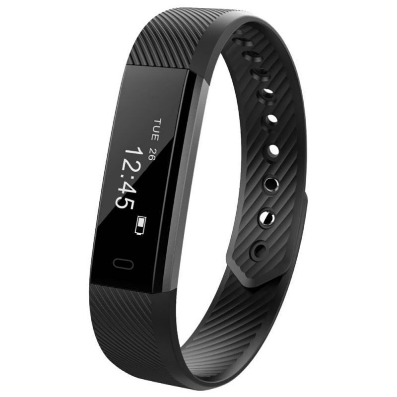 Smart Bracelet Fitness Tracker Step Counter Activity Monitor Band Alarm Clock Vibration Wristband for iphone Android