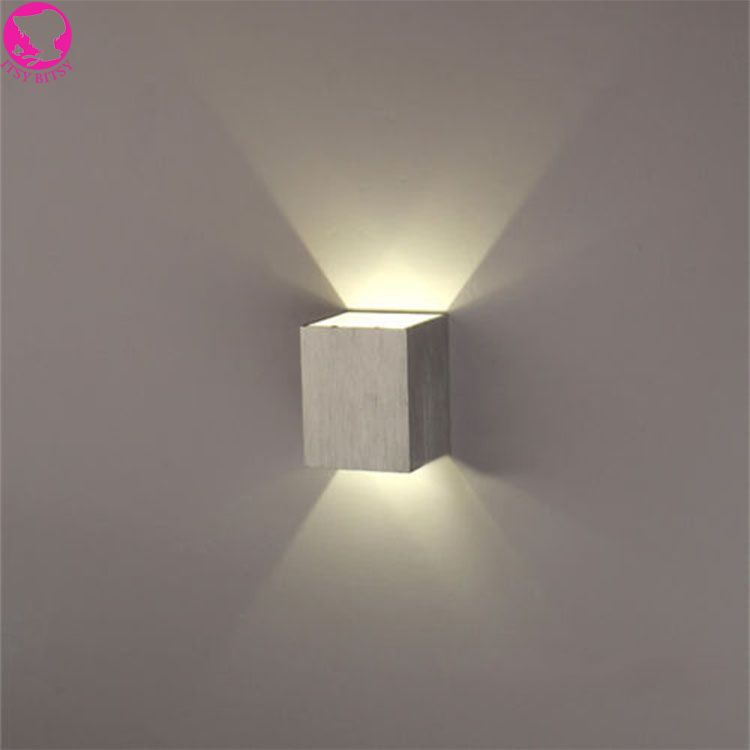 Modern 3w Led Wall Light Ac85 265v High Quality Restroom