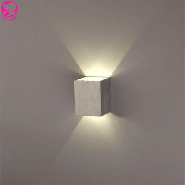 Modern 3W led wall light AC85 265V high quality restroom bathroom ...