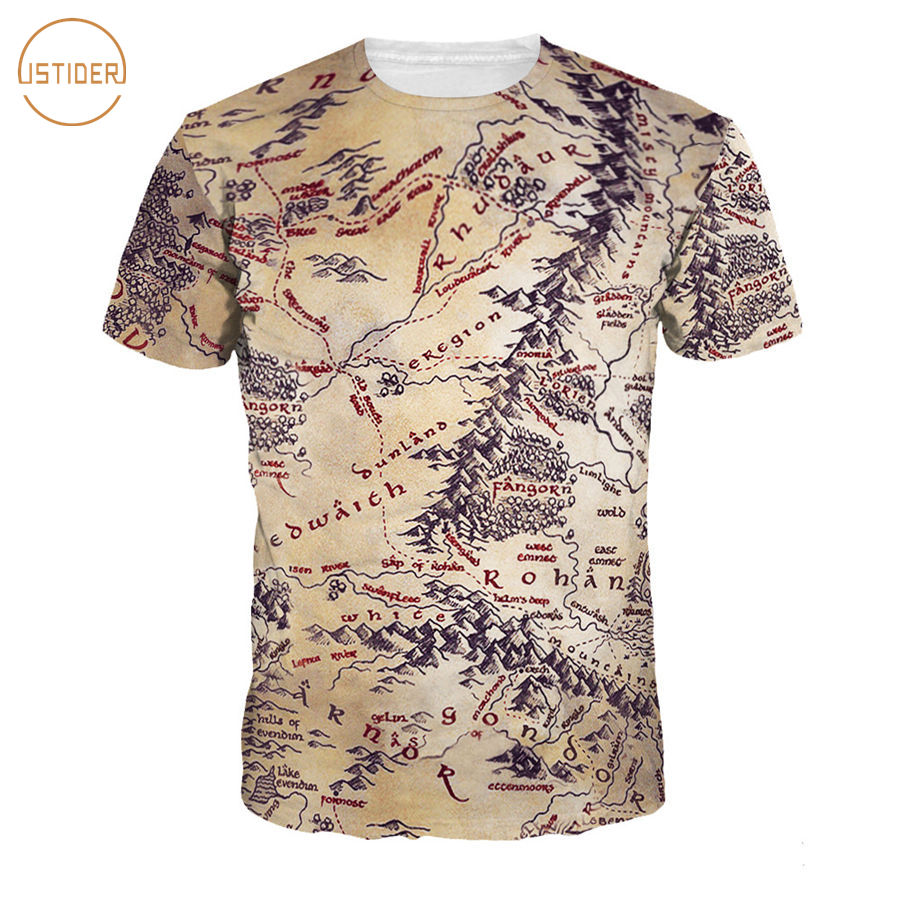 Istider 3d t shirt men 2017 mens fashion the lord of the for Quick print t shirts
