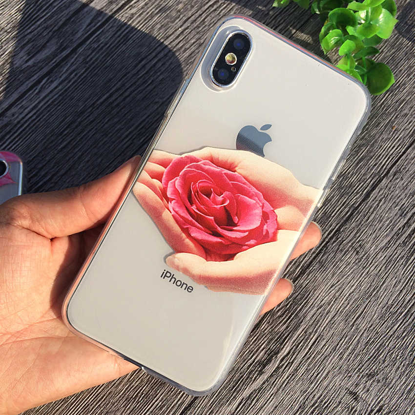 2c32b88961 ... Soft TPU Case For iPhone X 7 Plus Case Cover Celular Phone Cases Capa  For iPhone8 ...