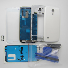 Original Full Housing Cover Middle Frame Screen Glass Replacement for Samsung Galaxy S4 mini i9192 full