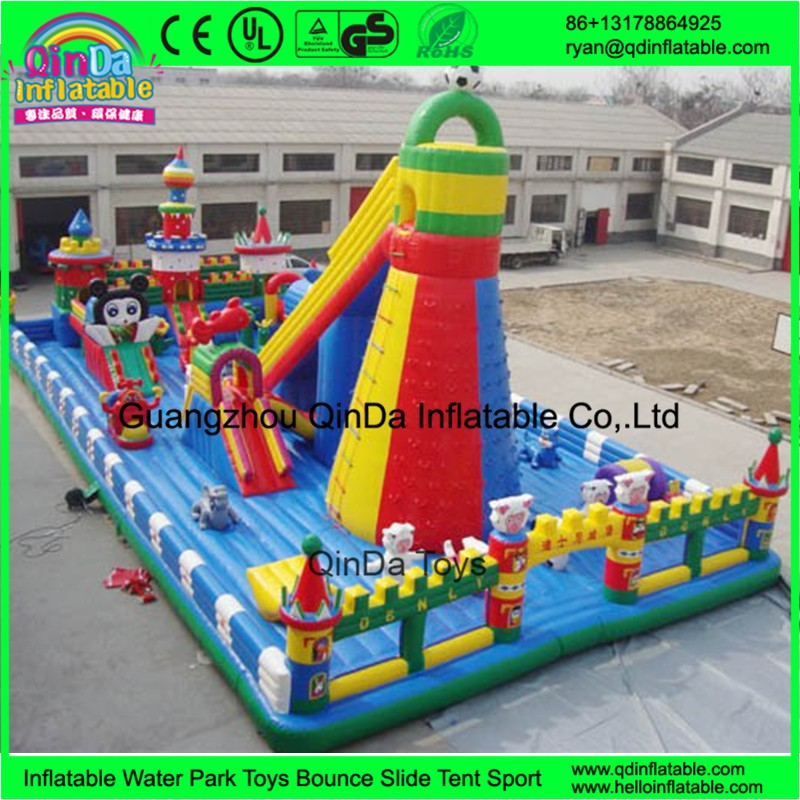 inflatable giant fun city57
