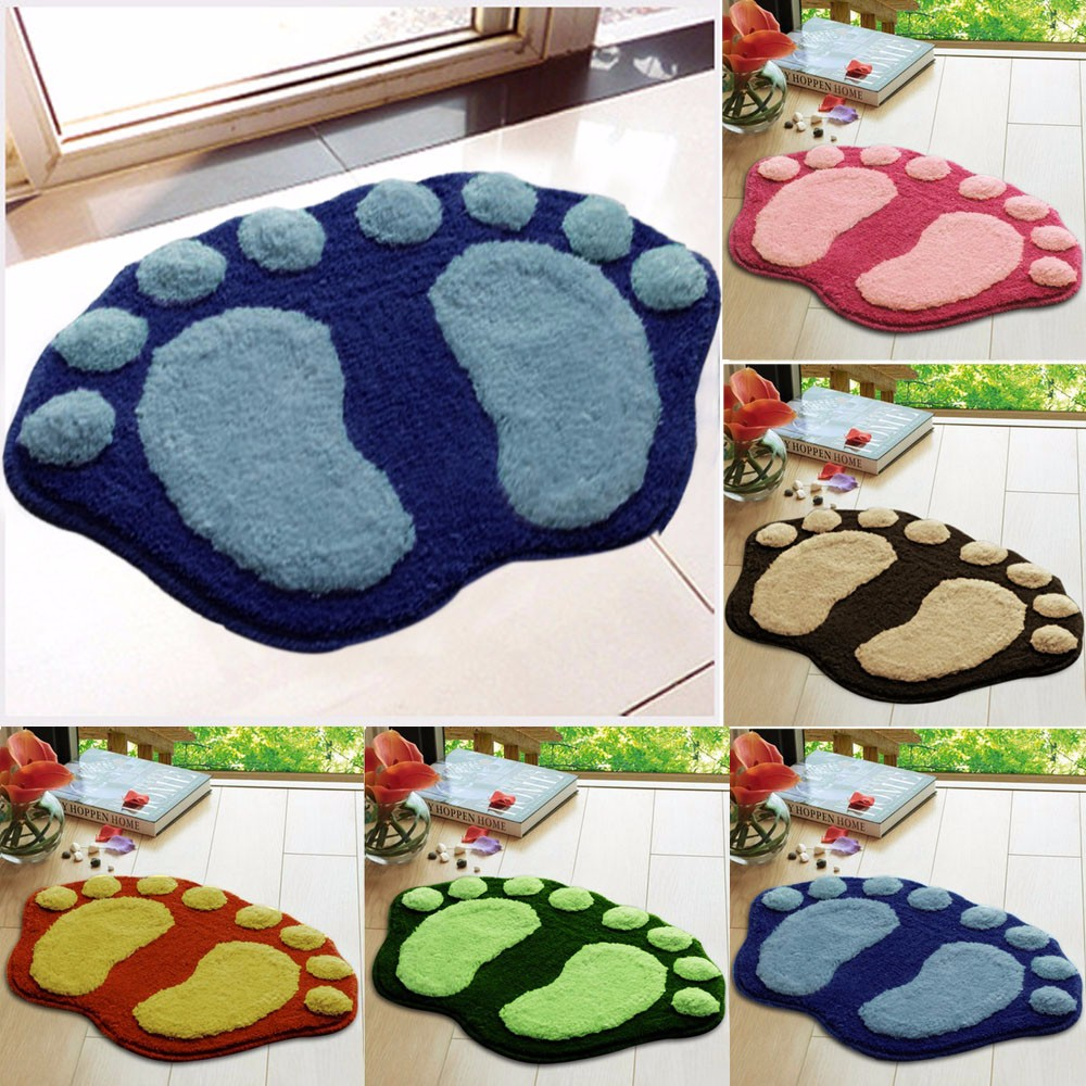 Cheap 1PC Soft Feet Memory Foam Bath Bathroom Bedroom Floor Shower ...