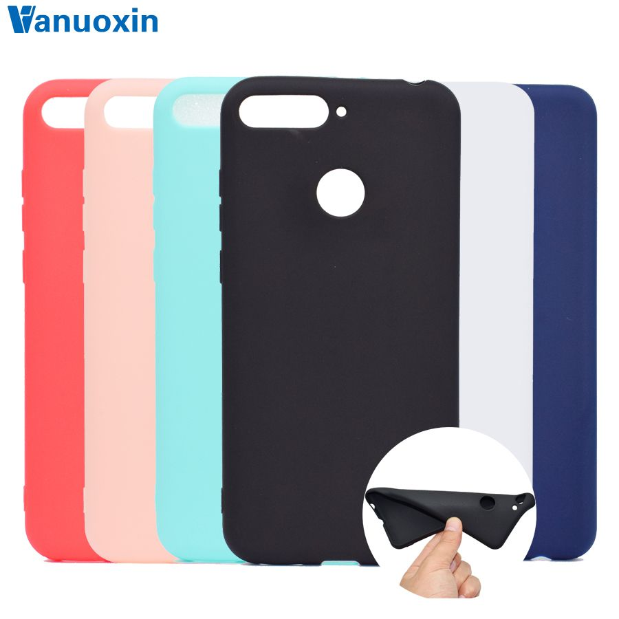Honor 7C Cases On For Huawei Honor7C AUM-L41 Case 5.7 Inch Soft TPU Back Cover Skin SFor Huawei Honor 7C Phone Cover Case Shell