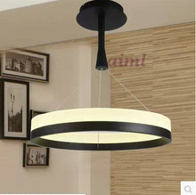 New LED acrylic circular droplight sitting room Fashion and contracted Dining-room bedroom study lamp project
