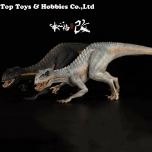 цена на In stock New Movie Series 1/35 Scale Bereserker REX I-Rex 1/35 Scale PVC Dinosaur Dinosaur Animal Figure Model Figure with box