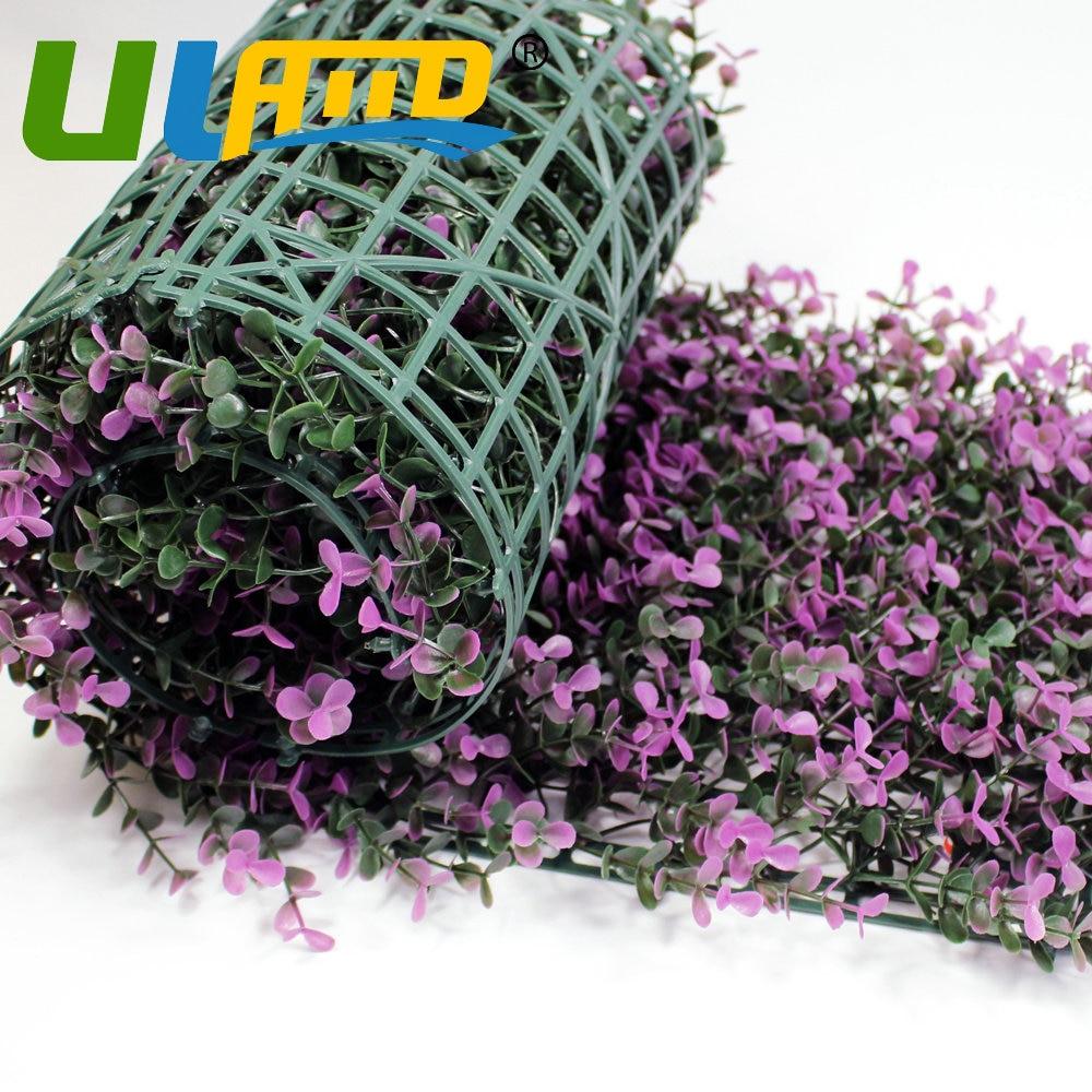 25x25cm Plastic Fencing Mat Decorative Artificial Long