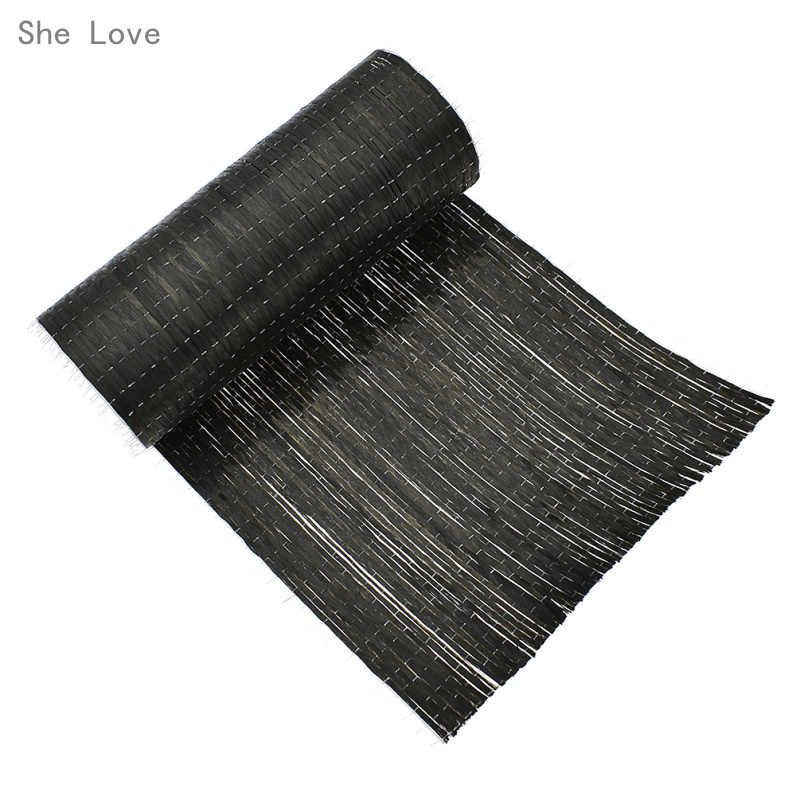 She Love 12k 200g Carbon Fiber Fabric For Handbags Garments DIY Material Craft Making Accessories