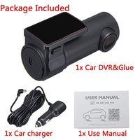 170度モバイル監視ビデオカメラダッシュカメラhd 1080 pミニwifi車dvrカメラビデオ