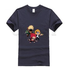 2019 new T-shirt Round neck My Hero Academia Cool Japan Anime Cartoon comics Summer dress men tee Pop Boy cos play custom made