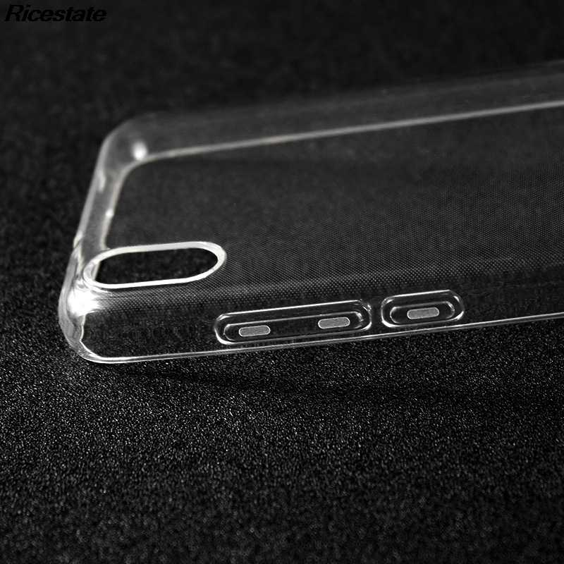 Ультра-тонкий прозрачный чехол для Xiaomi Redmi 7A, прозрачный мягкий силиконовый чехол из ТПУ для телефона Redmi 7A, прозрачный чехол