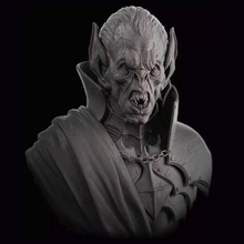 1pc 1/10 Scale Model Resin People Figure Character Sci-Fi Movie Theme Old Vampire Unpainted And Unassembled