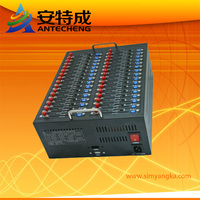 GSM GPRS Modem Pool 32 Ports,SL6087 USB Interface quad band 850/900/1800/1900MHz Wavecom modem