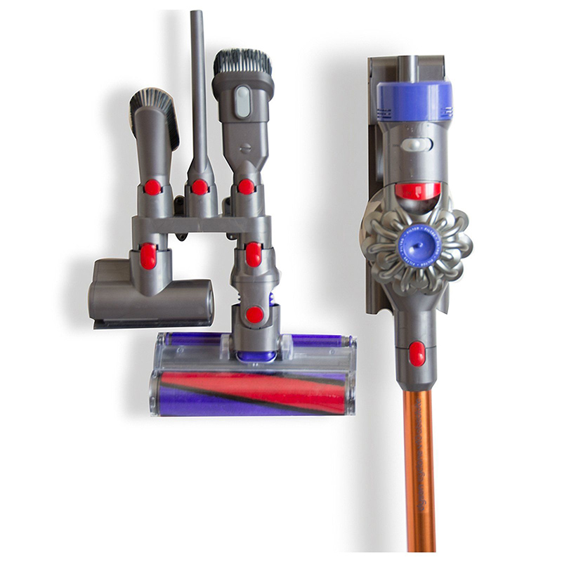 Parts <font><b>Storage</b></font> <font><b>bracket</b></font> Accessory <font><b>Vacuum</b></font> <font><b>cleaner</b></font> Tubes <font><b>For</b></font> <font><b>Dyson</b></font> <font><b>V7</b></font> <font><b>V8</b></font> <font><b>V10</b></font> V11 17*8.5*8cm Holder Spare High quality image