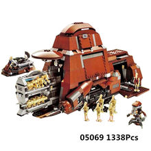 05069 Star Plan 7662 Federation Transportation Tank Wars Toys MTT Set Model Building Blocks Bricks Kids's Christmas Gifts(China)