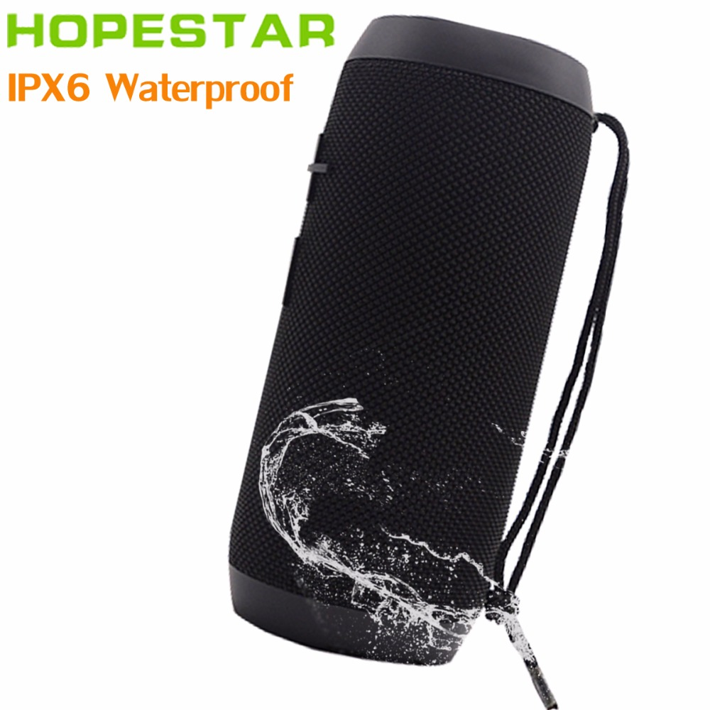 HOPESTAR P7 EStgoSZ Bluetooth Speaker Wireless WaterProof IPX6 Column Box Bass Mini Subwoofer Portable With TF Card USB FM Mic